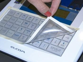 Ochranný kryt klávesnice pro pokladnu EURO-150