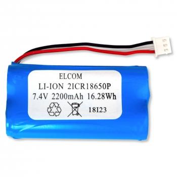Li-Ion baterie pro pokladny Elcom Euro-50/150TEi, 7,4V 2200mAh