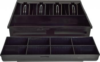 Náhradní plastový pořadač na peníze 4/8 pro zásuvku S-410  - 1