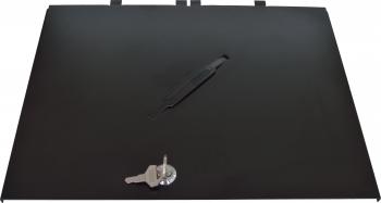 Kovový uzamykatelný kryt pro zásuvku S-410