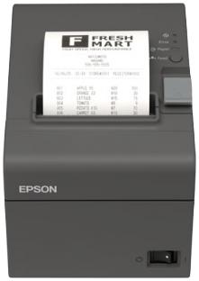 Tiskárna EPSON TM-T20II, řezačka, USB + serial (RS-232), tmavá, BAZAR  - 1