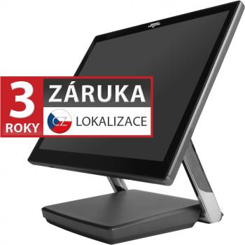 """XPOS XP-3685, 15"""" LCD 400, i3-7100U, 4GB RAM, 120GB M.2, kapacitní  - 1"""