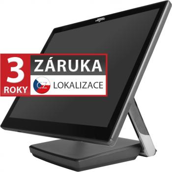 """XPOS XP-3687, 17"""" LCD 350, i3-7100U, 4GB RAM, 120GB M.2, kapacitní  - 1"""