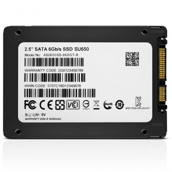 "SSD ADATA SU650 120GB 2,5"" SATA III  - 2"