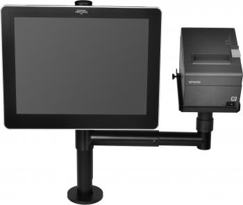 Virtuos Pole - Sestava - stojan s ramenem, držáky VESA a tiskárny  - 2