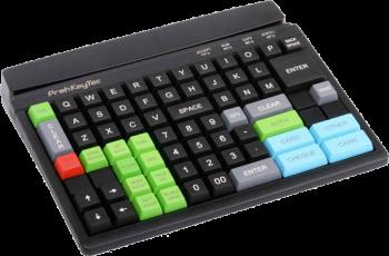 Programovatelná klávesnice Preh MCI84, USB, černá  - 2