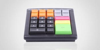 Programovatelná klávesnice Preh MCI30,USB,černá  - 2