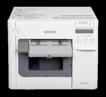 Tiskárna Epson ColorWorks C3500, tiskárna barevných etiket a vstupenek  - 2
