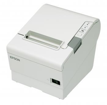 Tiskárna EPSON TM-T88V, řezačka, USB + serial (RS-232), bílá  - 2
