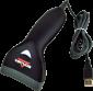 CCD čtečka Virtuos HT-10, USB, černá - 2/3