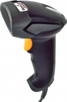 CCD čtečka Virtuos HT-310A, dlouhý dosah, USB, stojánek - POUŽITÁ  - 2