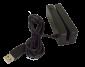 Třístopá čtečka magnet. karet VIRTUOS MSR-100, USB, černá - 2/3