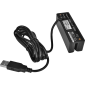 Třístopá čtečka magnetických karet MSR-100A, USB, černá - 2/3