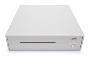 Pokladní zásuvka C420B - bez kabelu, 9-24V, béžová  - 2