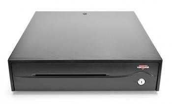 Pokladní zásuvka C420B - bez kabelu, 9-24V, černá, BAZAR  - 2