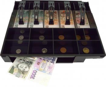 Plastový pořadač na peníze pro C410/C420/C430, plastové držáky bankovek  - 2