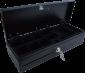 Pokladní zásuvka flip-top FT-460V1-RJ10P10C, bez kabelu, bez zam. krytu, černá - 2/4