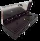 Pokladní zásuvka flip-top FT-460V2 - bez kabelu, se zam. krytem, NEREZ víko, černá - 2/4