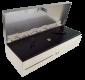 Pokladní zásuvka flip-top FT-460V3 - bez kabelu, se zam. krytem, NEREZ víko, bílá - 2/6