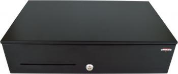 Pokladní zásuvka SK-500CB s kabelem, kov. pořadač 8/8, 9-24V, černá  - 2