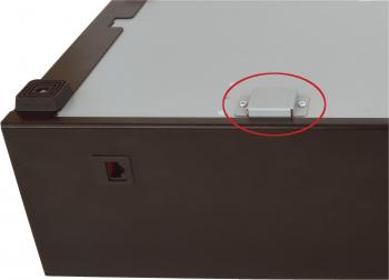 Kovová krytka nouzového otvírání pro C425/EK-300/SK-325/SK-500/S-410  - 2