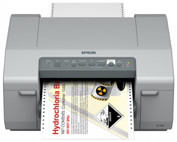 Tiskárna EPSON ColorWorks C831, tiskárna velkých štítků  - 2