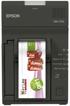 Tiskárna EPSON TM-C710, tiskárna barevných kupónů  - 2