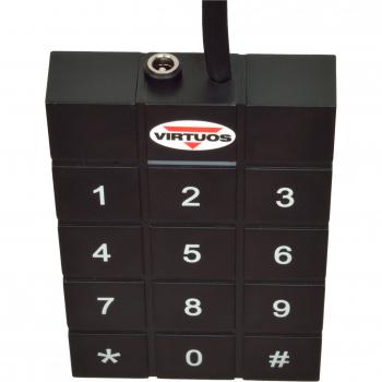 RFID 125 kHz adaptér s klávesnicí pro pokladní zásuvky Virtuos 24V  - 2