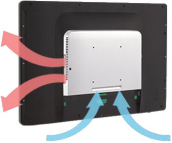 """AerPOS PP-8642CV, 22"""" LCD LED 300, i3, 4GB RAM, kapacitní, bez rámečku  - 2"""