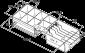 Plastový pořadač na peníze 6/8 pro FT-460xx, SK-500 - 2/2