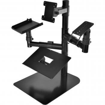 Virtuos Pole – Stojan s deskou pod pokladní zásuvku, 400mm  - 2