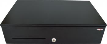 Pokladní zásuvka SK-500B bez kabelu, kov. pořadač 8/8, 9-24V, černá  - 2