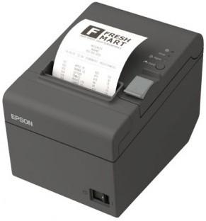 Tiskárna EPSON TM-T20II, řezačka, USB + serial (RS-232), tmavá, BAZAR  - 2