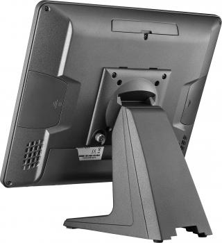 "AerPOS PP-9635AV, 15"", 4GB, 120GB SSD, Win 10 IoT, rámeček, černý  - 3"