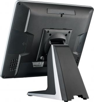 """AerPOS PP-9635BV, 15"""", 4GB, 120GB SSD, Win 10 IoT, bez rámečku, černý  - 3"""