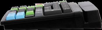 Programovatelná klávesnice Preh MCI84, USB, černá  - 3