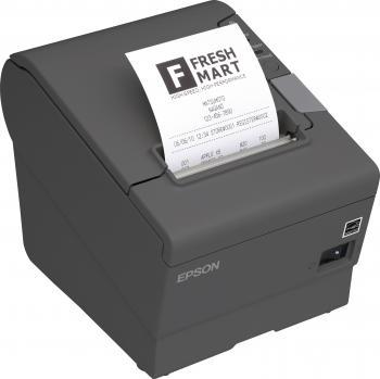 Tiskárna EPSON TM-T88V, řezačka, USB + serial (RS-232), tmavě šedá  - 3