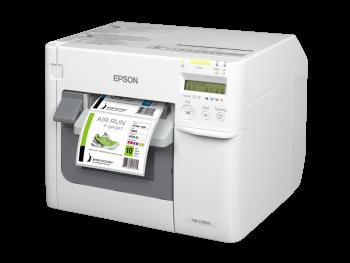 Tiskárna Epson ColorWorks C3500, tiskárna barevných etiket a vstupenek  - 3