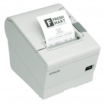 Tiskárna EPSON TM-T88V, řezačka, USB + serial (RS-232), bílá  - 3