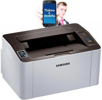 Tiskárna Samsung SL-M2026W, laserová, USB, Wi-Fi - POUŽITÁ  - 3