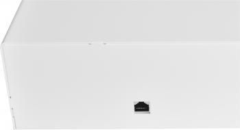 Pokladní zásuvka C430B-RJ10P10C, 12V/24V, bez kabelu, kov. držáky, nerez panel, bílá, BAZAR  - 3
