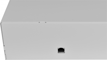 Pokladní zásuvka C430C - s kabelem, kov. držáky, nerez panel/bílá  - 3