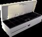 Pokladní zásuvka flip-top FT-460V4 - bez kabelu, se zam. krytem, bílá - 3/6