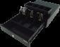 Pokladní zásuvka mikro EK-300C s kabelem, pořadač 3/4, 9-24V, černá - 3/7