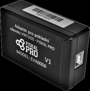 Adaptér pro pokl. zásuvky Virtuos a platební terminál FiskalPro VX520  - 3