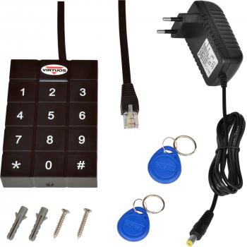 RFID 125 kHz adaptér s klávesnicí pro pokladní zásuvky Virtuos 24V  - 3