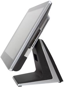 AerPOS PP-9645BV, 4GB, 120GB SSD, Win 10 IoT, bez rámečku, černý  - 3