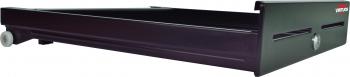 Pokladní zásuvka S-410 - s kabelem, pořadač 4/8, 24V, matná černá  - 3