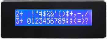 LCD displej zákaznický LCM 20x2 pro AerPOS, černý  - 4