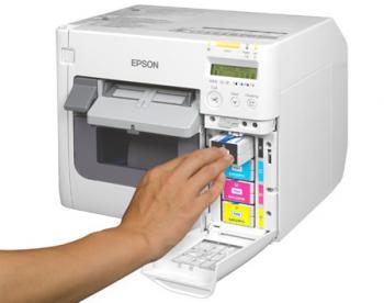 Tiskárna Epson ColorWorks C3500, tiskárna barevných etiket a vstupenek  - 4